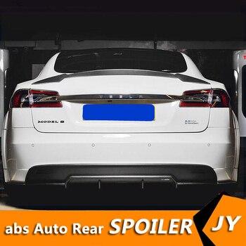 For Tesla mode S Spoiler Carbon Fiber Material 2012-2018 P4 JKS Performance Style Spoiler For Tesla model s Spoiler