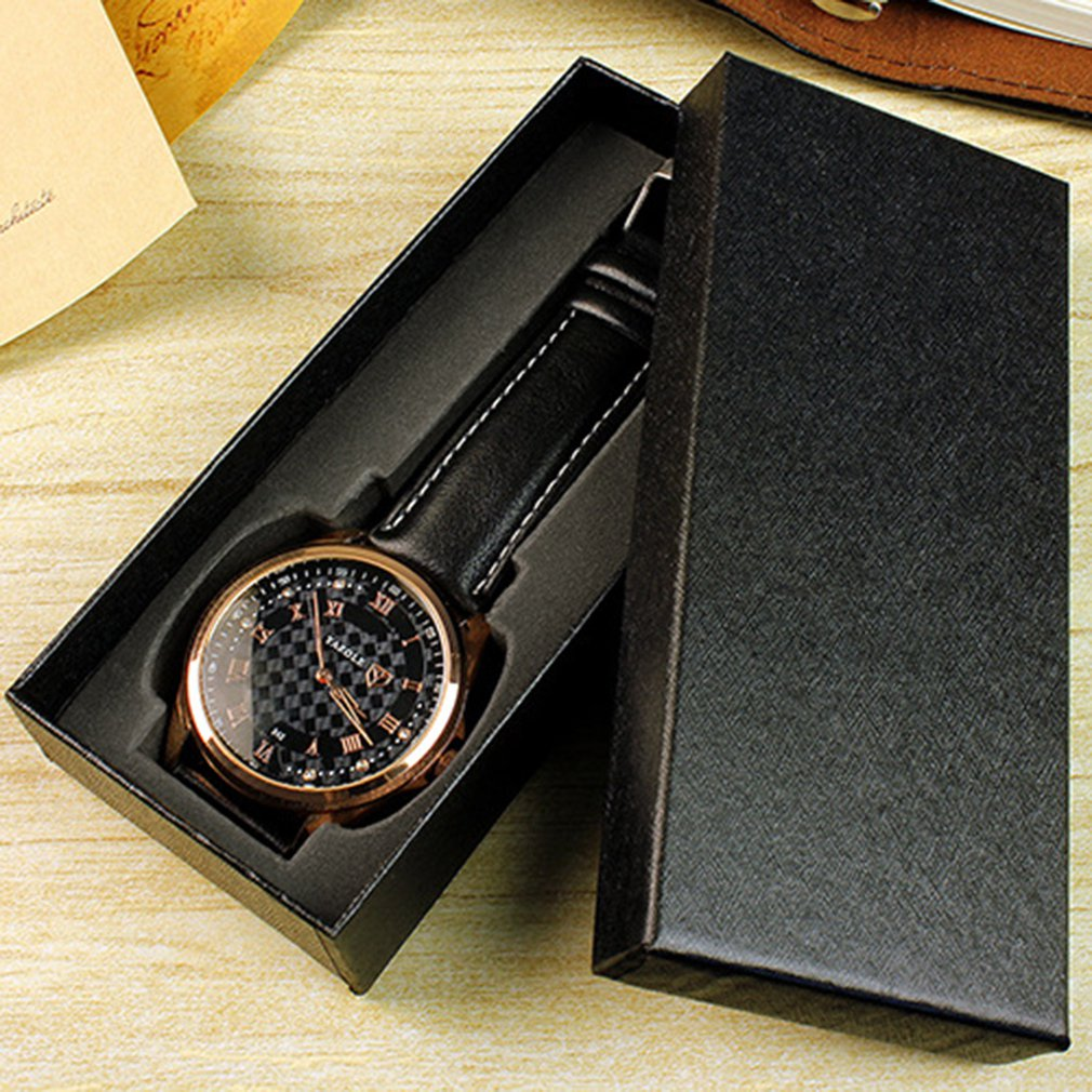 High Grade Watch Box Best Gift Durable Present Gift Long Design Box Case For Bracelet Bangle Jewelry Watch Boxes Comfortable