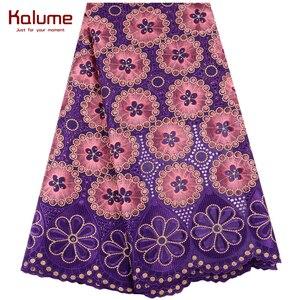 Image 4 - 2019 mais recente francês africano tecido de renda alta qualidade tule algodão renda para vestido swiss voile renda na suíça 1467