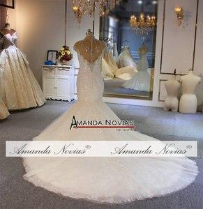 Image 3 - ชุดเดรสเมอร์เมดแอฟริกา 2020 ลูกไม้ Appliques CUSTOM Made ชุดแต่งงาน vestidos de noiva