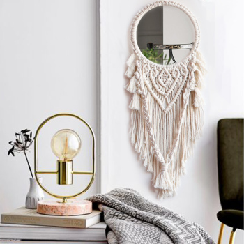 Macrame Mirror Frame