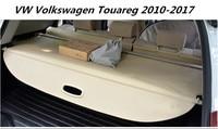 Alta qualidade Do Carro Tronco Rear Security Shield Carga Capa Para VW Volkswagen Touareg 2010-2017 (preto  bege)