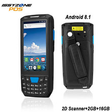 цена на ISSYZONEPOS Handheld PDA Android 8.1 Barcode Scanner 1D 2D Bar code Reader Data Collector POS Terminal  Warehouse Delivery PDA