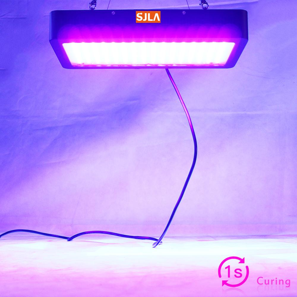 1 Sec Glue Dried Led UV GEL Curing Lamp 3D Printer Printing Machine Ink Paint Silk Screen Version Ultraviolet Cure Metal 365 395