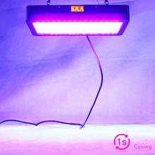 1 Sec Glue Dried Led UV GEL Curing Lamp 3D Printer Printing Machine Ink Paint Silk Screen Version Ultraviolet Cure Metal 365 395 fast and free shipping 16 x16 41cmx41cm 2000w flash dryer for silk screen printing equipment machine cure ink t shirt printer