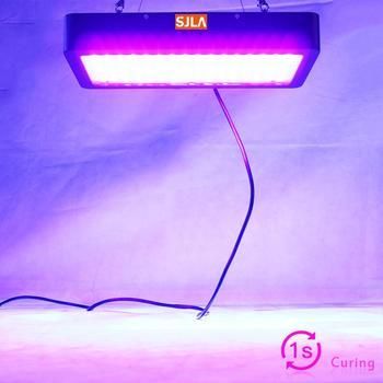 1 Sec Glue Dried Led UV GEL Curing Lamp 3D Printer Printing Machine Ink Paint Silk Screen Version Ultraviolet Cure Metal 365 395 1 color 1 station silk screen printing machine 17 7x21 7 inch