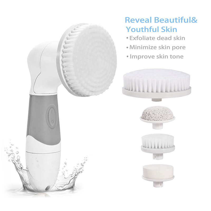 4 In 1 Facial Cleanser Deep Cleansing Skin Care Blackhead Removal