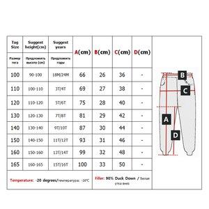 Image 5 - Leggings de Ski pour filles, épais et chaud, taille haute, élastique, pour enfants de 3 à 16 ans, hiver, 90%