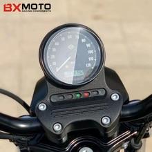 Motosiklet kilometre saati şerit etiket ekran koruyucu küme Scratch koruma için Harley Davidson XL883 XL1200 XL 883 1200