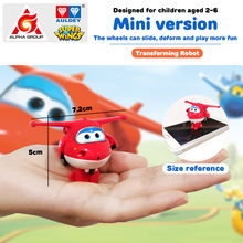 27 Types Super Wings Mini Transforming Toys Deformation Airplane Robot Action Figures Transformation Toys For Children Gifts