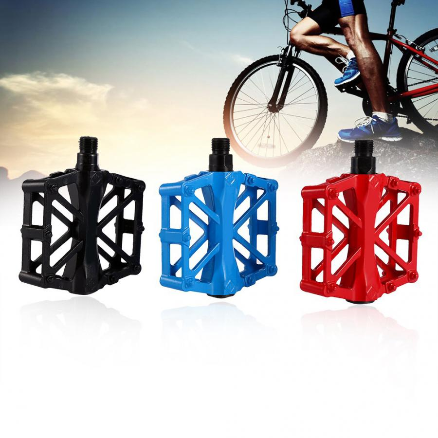 1Pair of Bicycle Pedal Non-Slip Universal Aluminum Flat Pedal for Mountain Bike