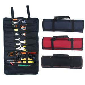 Case Bags Toolkit-Instrument Multifunction-Tool Carrying-Handles Electrician Chisel Oxford Canvas
