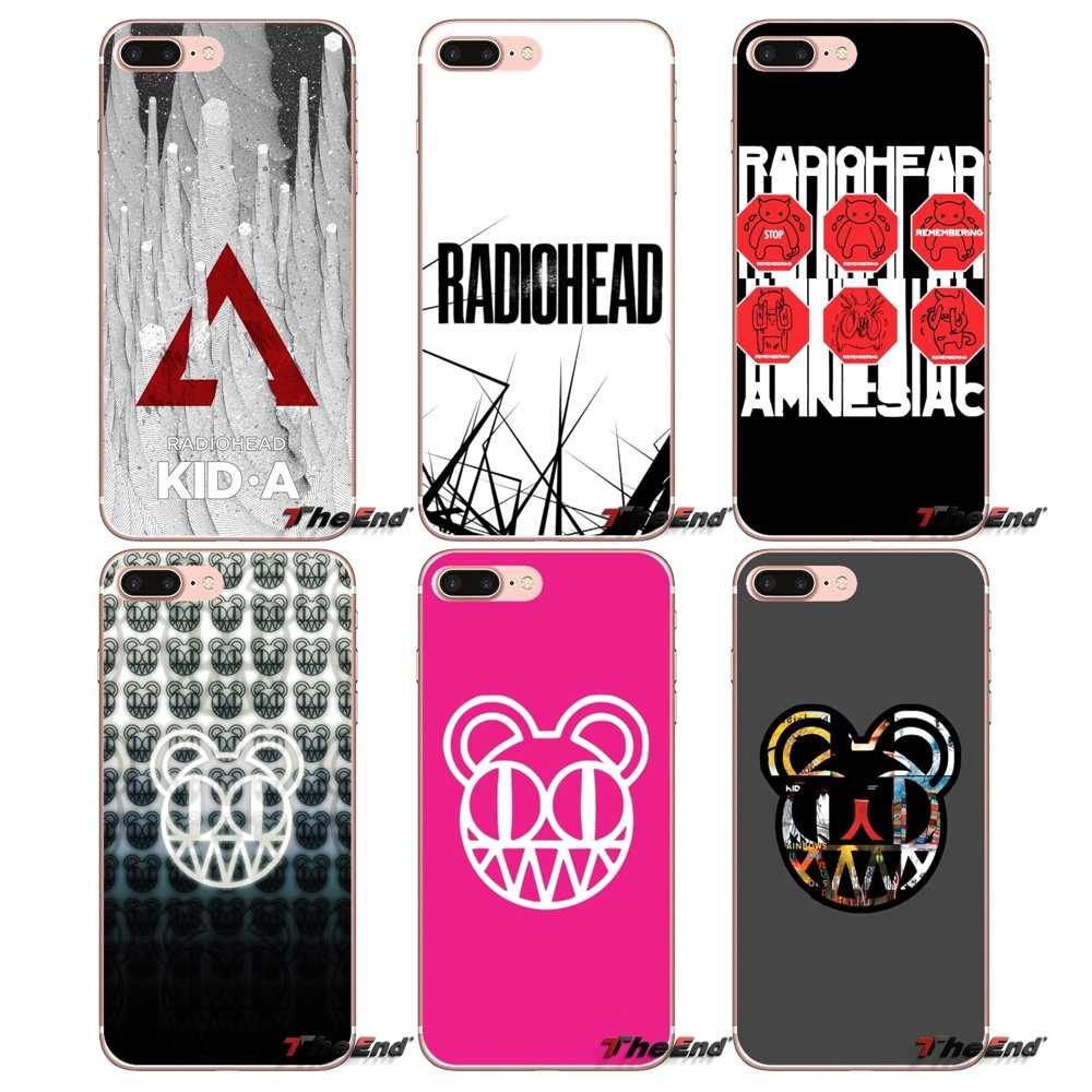 Zachte Transparante Shell Covers rock band Radiohead Voor Huawei P Smart Y6 Ascend P8 P9 P10 Plus Nova P20 Lite pro Mini 2017