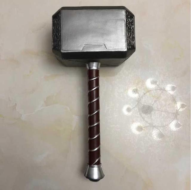 44cm Toys Thor Hammer Thor Thor Custome Cosplay props Hammer stage property PU Foam Kids Gift