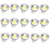 15X LED COB Spotlight GU10 Led Dimmable Bulbs 6W 9W 12W Spot Light Bulb High Power lamp AC 110V 220V For Home Office Lighting