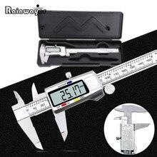 Calipers Measuring-Tool Vernier Stainless-Steel 150mm