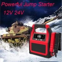 Auto Starthilfe 12V 24V Power Pack Tragbare Auto Batterie Booster Ladegerät Ausgangs Gerät Benzin Diesel Auto Starter