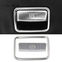 Автомобильный Стайлинг стоп-релиз переключатель рамка отделка крышки наклейка для Mercedes Benz CLA C117 GLA X156 A класс W176 аксессуары
