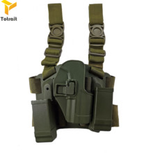 лучшая цена Tactical CQC HK USP Compact Drop Thigh Holster Tactical Gear Leg Gun Holster for H&K USP Hunting Gun Accessories