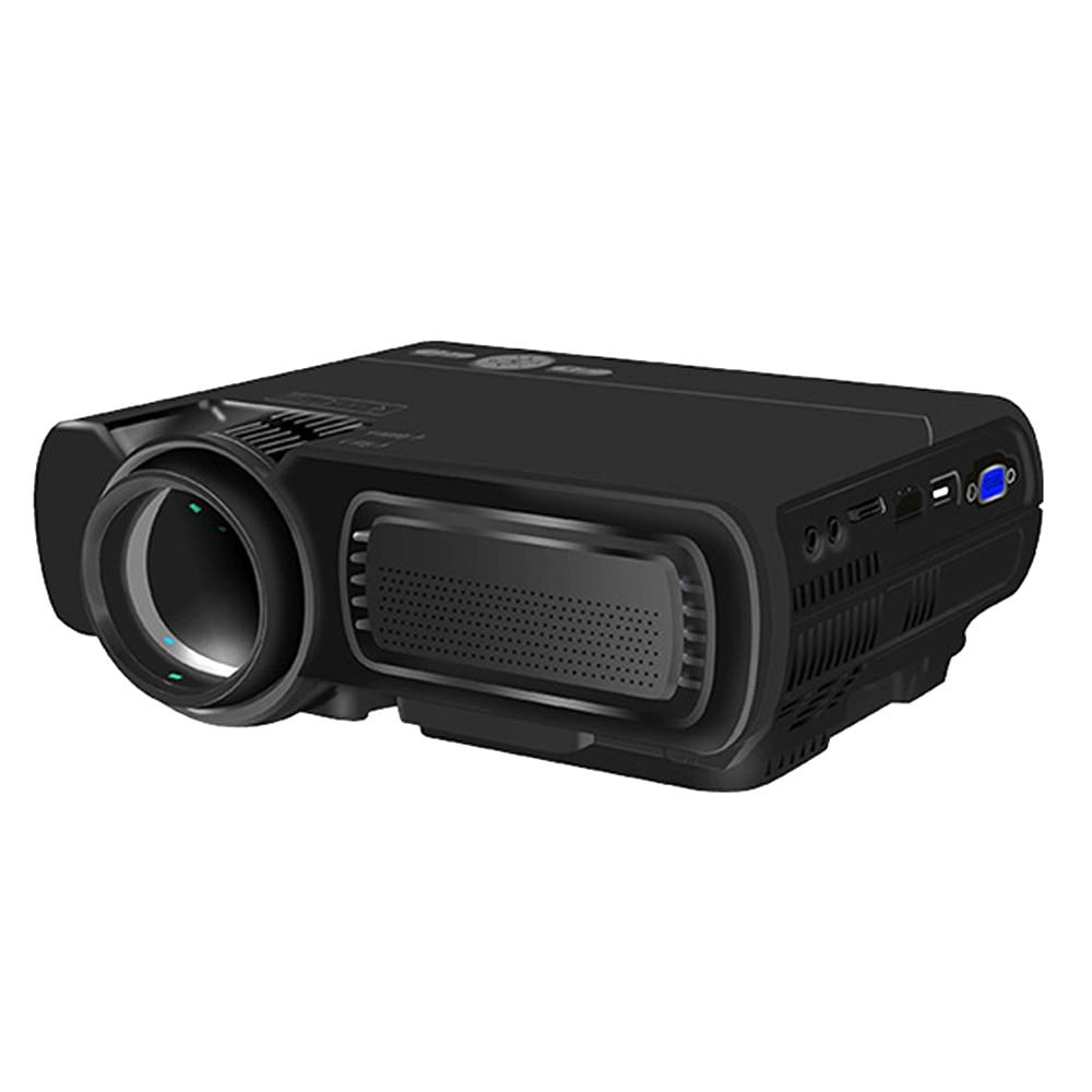 T5 LED 1080P Full HD Projektor 3D HDMI USB LCD Home Cinema Theater Media Player 16:9 Tragbare Unterstützung Android wifi Gleichen Bildschirm