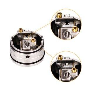 Image 5 - Vaporizer atomizer Vapefly Holic MTL RDA E Cigarette Single Coil with Side Airflow Adjustable Fit 510 E Cigarette box mod