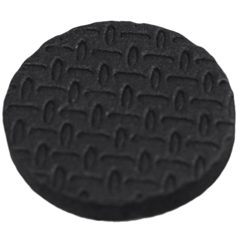 Hot-18 Pcs Black 2.5cm Diameter Nonslip Table Chair Leg Felt Cushion Pad