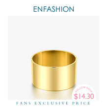Женский широкий гладкий браслет enfashion минималистичные браслеты