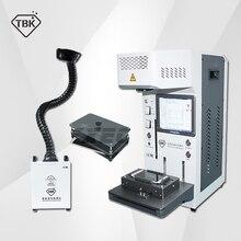 TBK-958A 20 Вт Автоматическая lcd Задняя стеклянная Лазерная Отдельная машина для iphone 11 11pro max для DIY гравировки и маркировки логотипа