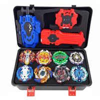 Tops lanzadores Beyblade Burst Set de juguetes con Starter y Arena Bayblade Metal Dios Spinning Top Bey cuchillas Juguetes