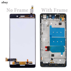 Image 2 - For Huawei Ascend P8 Lite ALE L04 L21 TL00 L23 CL00 L02 UL00 LCD Display Touch Screen Digitizer Assembly Replacement With Frame