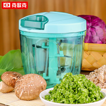 Household Manual Mashed Garlic Machine Heighten Food Processor Meat Grinders  For Fruit Vegetable Slicer Kitchen Tools multifunction manual food processor vegetable slicer fruit slicing cutter meat cutting machine stainless steel anti skid design