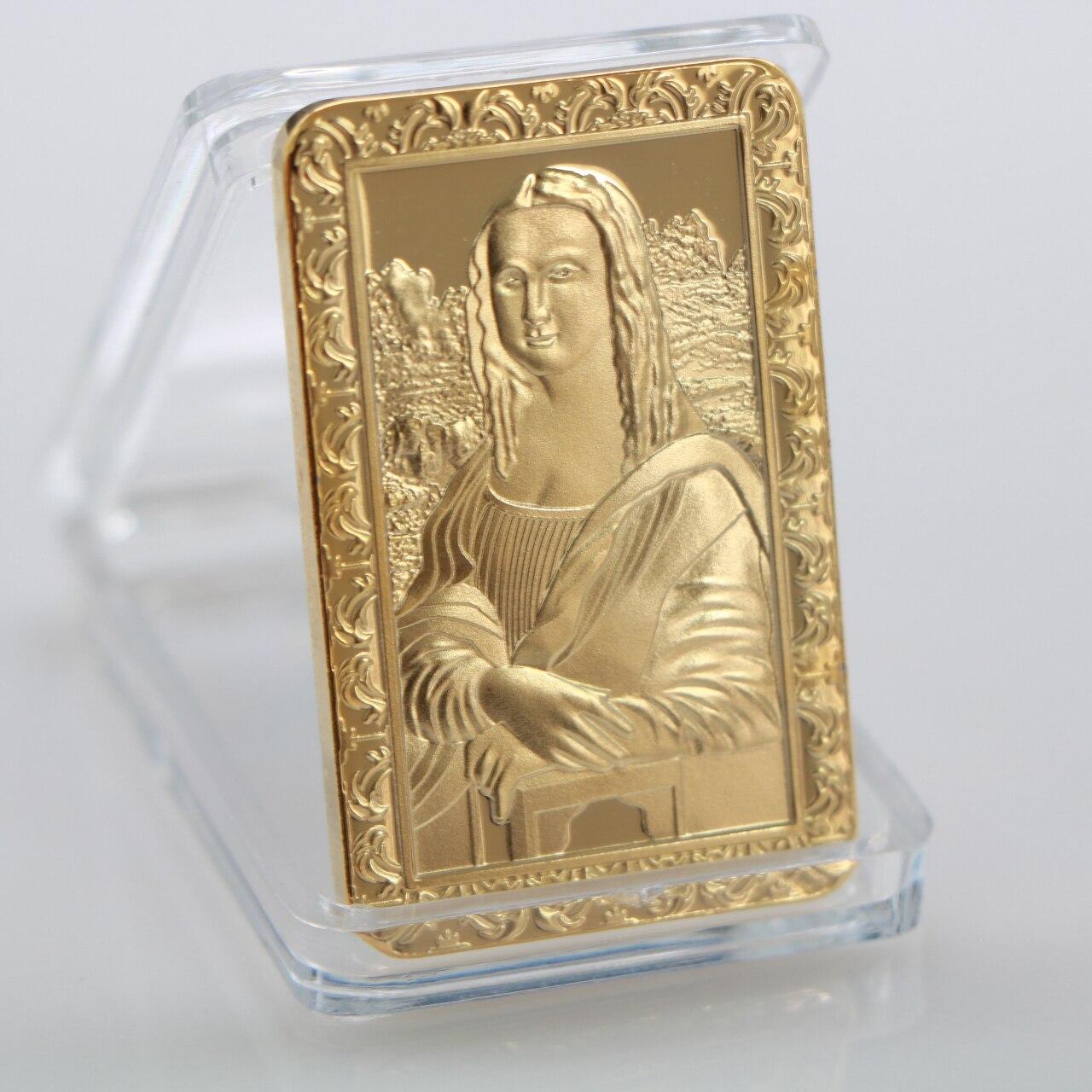 Золотое покрытие для бара да Винчи Мона Лизы