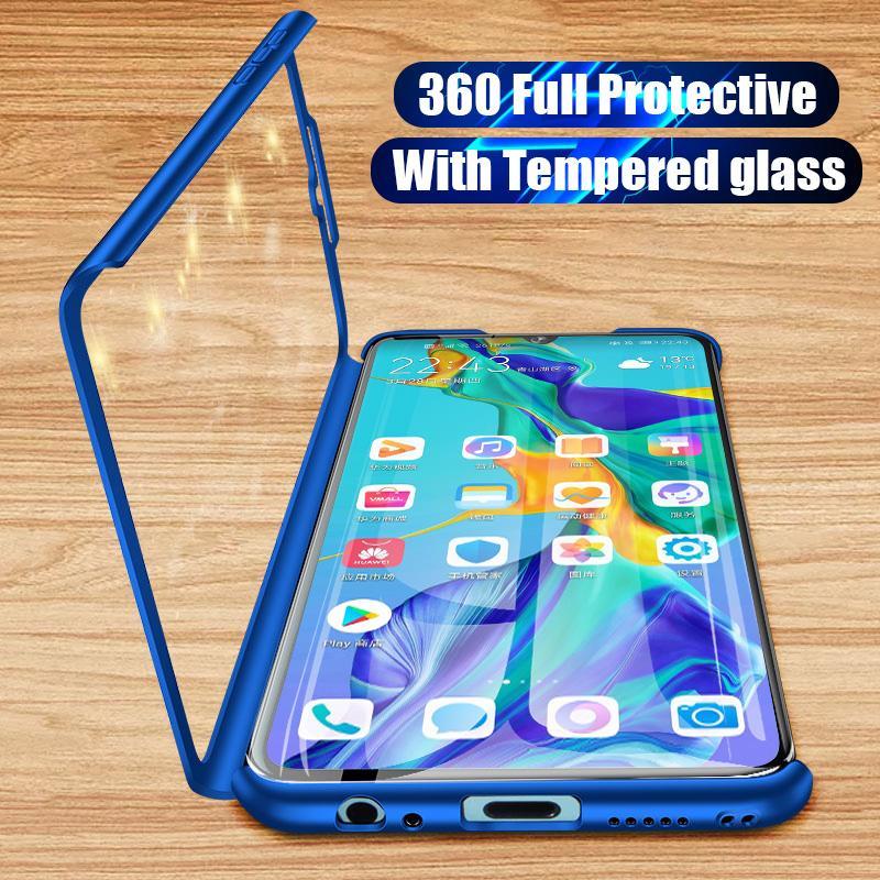 360 Degree Protective Case For Samsung Galaxy A70 A60 A40 A20 A50 A30 A10 S A10S Case For Samsung A6 A8 Plus A9 A7 2018 TPU Case