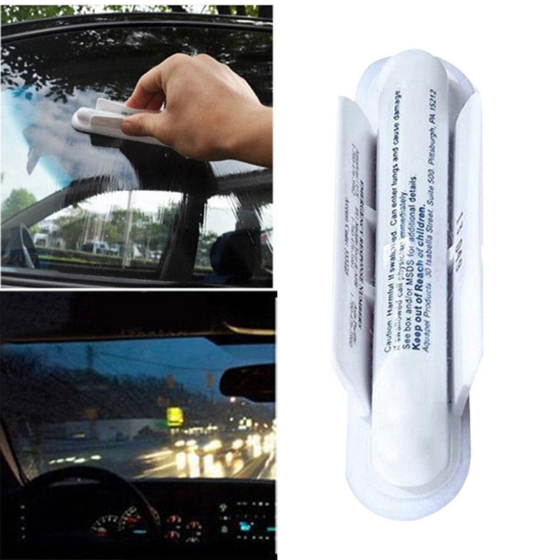 1Pc Anti Rain Universal Car Windshield Wipers Stealth Wipers Glass Water Rain Repellent Soft Absorbent Wash Cloth