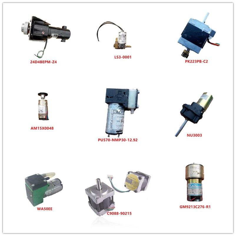 24D4BEPM-Z4  B3117-S4  PK223PB-C2  AM15X0048  PU570-NMP30-12.92  NU3003  WA50EE  C9088-90215  GM9213C276-R1 Used