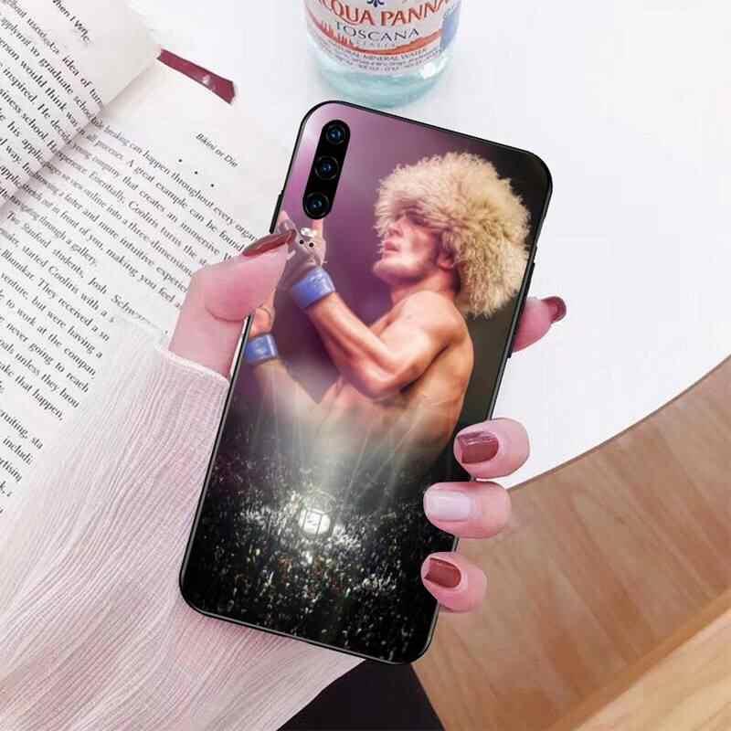 PENGHUWAN UFC קונור מקגרגור khabib nurmagomedov DIY צבוע טלפון מקרה עבור Huawei Honor 20 10 9 8 8x 8c 9x 7c 7a לייט מבט פרו