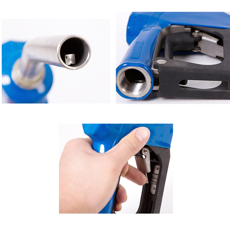 Noblik Boquilla Def//AdBlue Autom/áTica de Acero Inoxidable NPT de 3//4 Pulgadas con Bomba de Transferencia Giratoria Def Pistola de Combustible para Autom/óVil Boquilla Manual//Autom/áTica