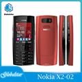 Оригинальные восстановленные мобильные телефоны Nokia X2-02, разблокированные, одноъядерные, Symbian OS, Bluetooth, FM-радио, две SIM-карты, 1020 мАч, быстрая д...