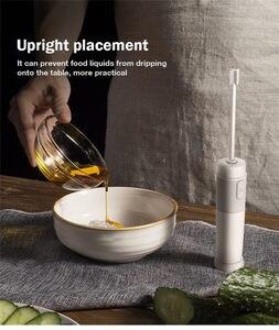 Image 3 - חדש עיצוב נייד מזון מיקסר ביצה להקציף AAA סוללה חלב לשתות קפה Whisk מיקסר חשמלי ביצת מקצף מקציף Foamer סטירר