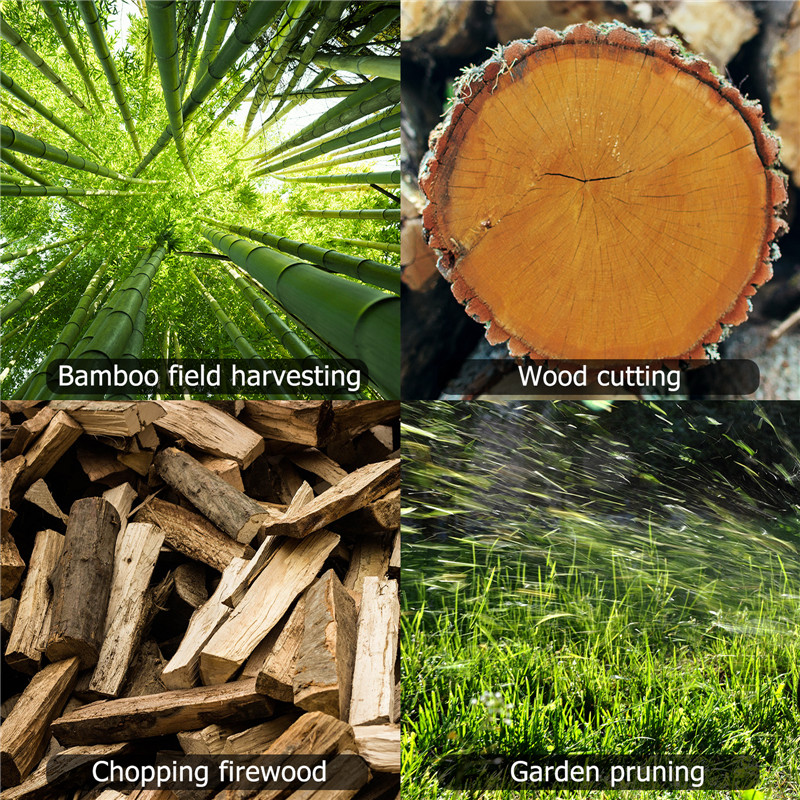 de poda pequena madeira spliting uma-mão carpintaria jardim ferramenta elétrica