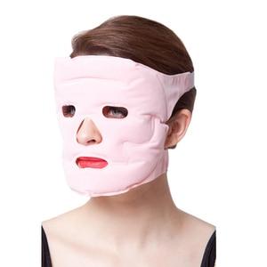 Image 3 - Tcare 1 шт. косметическая маска для лица с эффектом подтяжки, магнитная терапия, массажная маска для лица, увлажняющие отбеливающие маски для лица, забота о здоровье