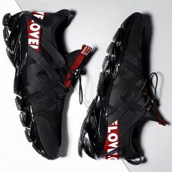 Męskie buty letnie męskie obuwie odkryte trenerzy mężczyźni trampki do chodzenia buty czarne białe tenisowe buty męskie obuwie dla dorosłych tanie i dobre opinie dylan sky Siateczka (przepuszczająca powietrze) podstawowe CN (pochodzenie) Na wiosnę jesień Buty casualowe RUBBER Sznurowane