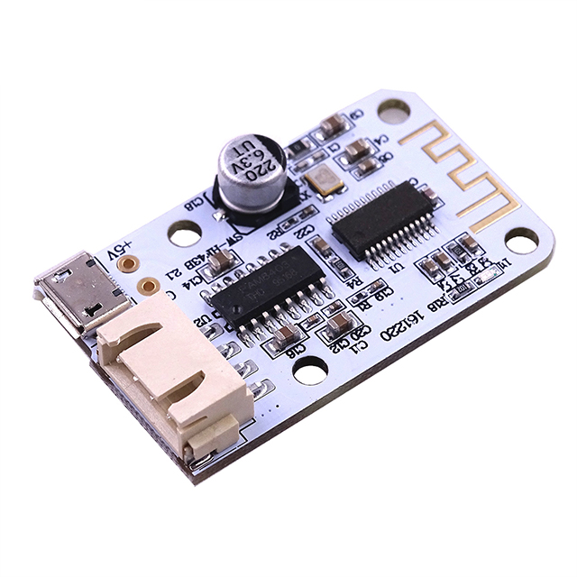 A5-- EYEWINK Wireless For <font><b>bluetooth</b></font> 4.0 Stereo Audio Receiver Module Digital <font><b>Amplifier</b></font> Sound Loud Board Micro USB 3W+3W <font><b>5V</b></font> DC image