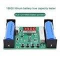 Тестер емкости батареи мАч MWh для литиевого аккумулятора 18650, цифровой модуль детектора мощности литиевой батареи