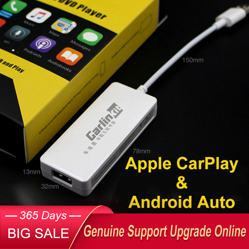 Carlinkit USB CarPlay Dongle Android Auto for Android Car Android Multimedia Player Plug and Play