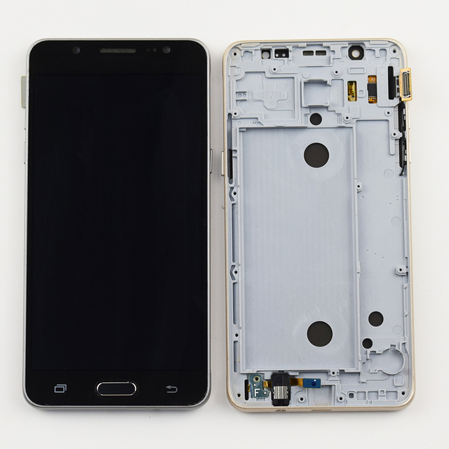 Color : White J510FN J510F J510G Black J510M J510Y // J510 2016 YANGJ Phone LCD Screen LCD Display Touch Panel for Galaxy J5