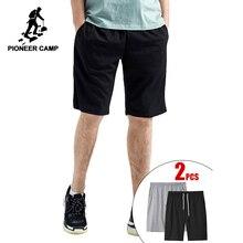Pioneer Camp Dropshipping 2020 กางเกงขาสั้นคุณภาพสูงสั้นกางเกงชาย 100% Cotton Joggerลำลองสั้นADK902345B