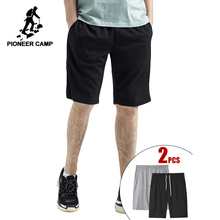 Pioneer Camp Dropshipping 2020 Mens Shorts High Quality Short Pants Male 100% Cotton Solid Jogger Men Casual Short ADK902345B