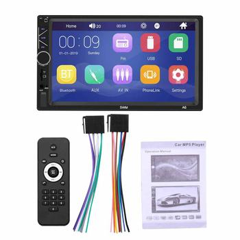 2Din 7inch Car Radio Autoradio Car Multimedia MP5/MP3 Player Bluetooth Fm Transmitter Usb Flash parking with rear view camera image
