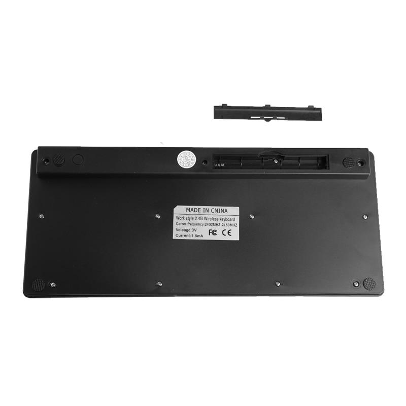 Image 4 - Wireless 2.4GHz Mini Keyboard Ultra Thin Mouse Combo Set For Desktops LaptopsKeyboard Mouse Combos   - AliExpress